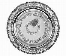 Portuguese silver salver.
