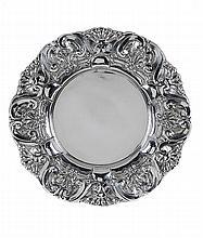 Portuguese silver, salver.