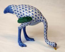 HEREND PORCELAIN EMU