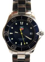 TAG HUER AQUA RACER BLUE FACE WATCH