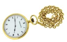 Tiffany & Co Solid 18k Yellow Gold watch