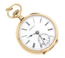 1800s Antique Tiffany & Co.14k pocket watch