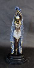 BRONZE STATUE CHIPARUIS STYLE EGYPTIAN DANCER