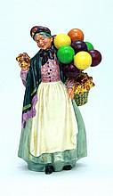 ROYAL DOULTON BIDDY PENNYFARTHING FIGURINE HN 1843