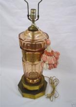MOSER ART GLASS LAMP