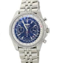 Breitling Bentley T Speed Blue Chronograph watch