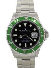 2006 Rolex Anniversary Submariner watch