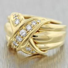 1990 Tiffany & Co Large 18k ring