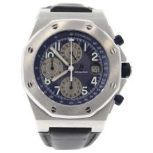 Audemars Piguet Stainless Steel Blue watch