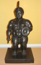 FERNANDO BOTERO COLOMBIAN HUGE BRONZE SCULPTURE