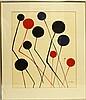 CALDER KINETIC ART PENCIL SIGNED ARTIST PROOF