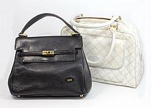 LOT OF 2 BALLY ITALY DESIGNER LEATHER PURSES
