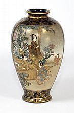 JAPANESE IMPERIAL SATSUMA VASE