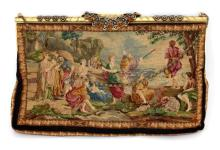 VINTAGE FRENCH TAPESTRY PURSE