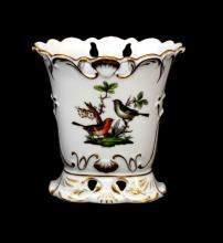 HEREND HUNGARY PORCELAIN ROTHSCHILD BIRD PATTERN