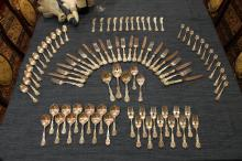 Reed & Barton St. Francis1st 89 Piece Sterling set