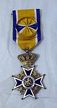 NETHERLANDS OFFICERS KNIGHTHOOD MEDAL