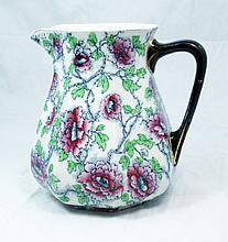 ANTIQUE LOSOL WARE PORCELAIN PITCHER FROM DENMARK