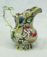 FRENCH IMPERIAL FALENCE PORCELAIN PITCHER