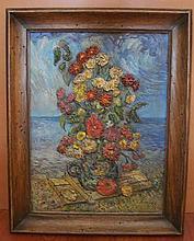 DAVID BURLIUK RUSSIAN AMERICAN (1882-1967) OIL