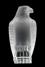 LALIQUE CRYSTAL MOTIF AIGLE EAGLE SCULPTURE w BOX