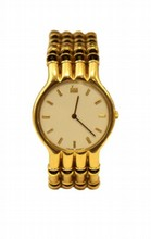 RARE MENS 18K DI MODOLO GOLD WATCH