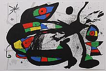 Joan Miro' (1893-1983) original lithograph from