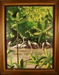 Rick Worth (20th Century) Original Oil on Board –E etc.