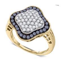 10KT Yellow Gold 1.00CTW DIAMOND FASHION RING #36882v3