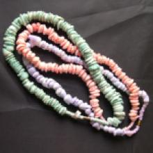 Mixed Dyed Genuine Shell Beaded Necklaces #18894v3
