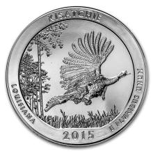 2015 5 oz Silver ATB Kisatchie National Forest, LA #22182v3