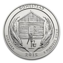 2015 5 oz Silver ATB Homestead National Park, NE #22183v3
