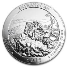 2014 5 oz Silver ATB Shenandoah National Park, VA #22193v3