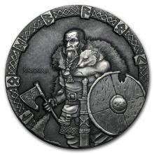 2015 2 oz Silver Coin Viking Series (Ragnar) #21702v3