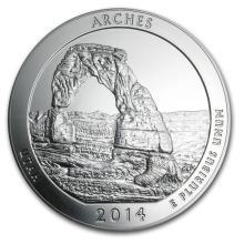 2014 5 oz Silver ATB Arches National Park, UT #22194v3