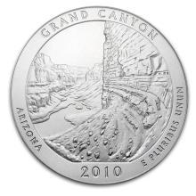 2010 5 oz Silver ATB Grand Canyon National Park, AZ #22192v3