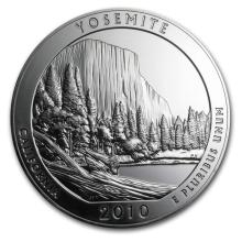 2010 5 oz Silver ATB Yosemite National Park, CA #22190v3