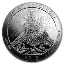 2012 5 oz Silver ATB Hawaii Volcanoes National Park, HI #22197v3