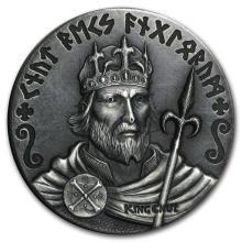 2015 2 oz Silver Coin Viking Series (King Cnut) #21703v3
