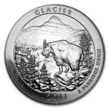 2011 5 oz Silver ATB Glacier National Park, MT #22187v3