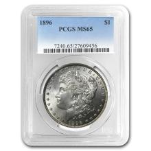 1896 Morgan Dollar MS-65 PCGS #22120v3