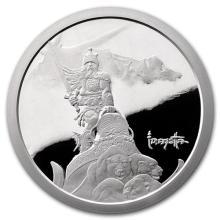 5 oz Silver Proof Round - Frank Frazetta (Silver Warrior) #52640v3