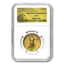 2009 Ultra High Relief Double Eagle MS-70 NGC (Gold Label) #22643v3