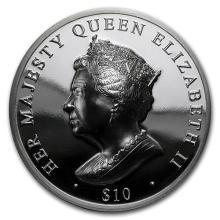 2016 BVI $10 Queen's Double Head Piedfort (Ultra High Relief) #52522v3