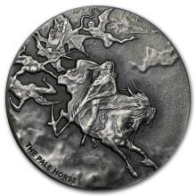 2 oz Silver Coin - Biblical Series (Pale Horse) #31083v3