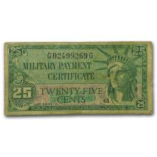 MPC Series 591 25 Cents VF #31214v3