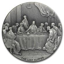 2 oz Silver Coin - Biblical Series (The Last Supper) #31078v3