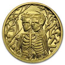 1/10 oz Gold Round Zodiac Series - Gemini #22507v3
