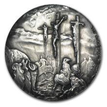 2 oz Silver Coin - Biblical Series (Crucifixion) #31077v3