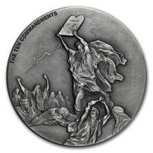 2 oz Silver Coin - Biblical Series (Ten Commandments) #31081v3